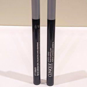 Clinique Pretty Easy Liquid Eyeliner - LOT OF 2 PC